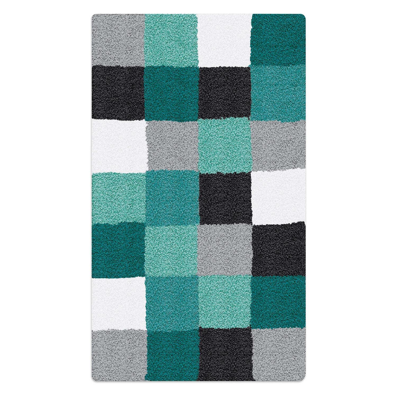 kleine wolke badteppich caro 60 x 105 cm blau polyacryl 60 x 100 cm online kaufen bei woonio. Black Bedroom Furniture Sets. Home Design Ideas