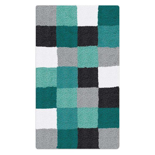 kleine wolke badteppich caro 70 x 120 cm blau polyacryl 70 x 120 cm online kaufen bei woonio. Black Bedroom Furniture Sets. Home Design Ideas