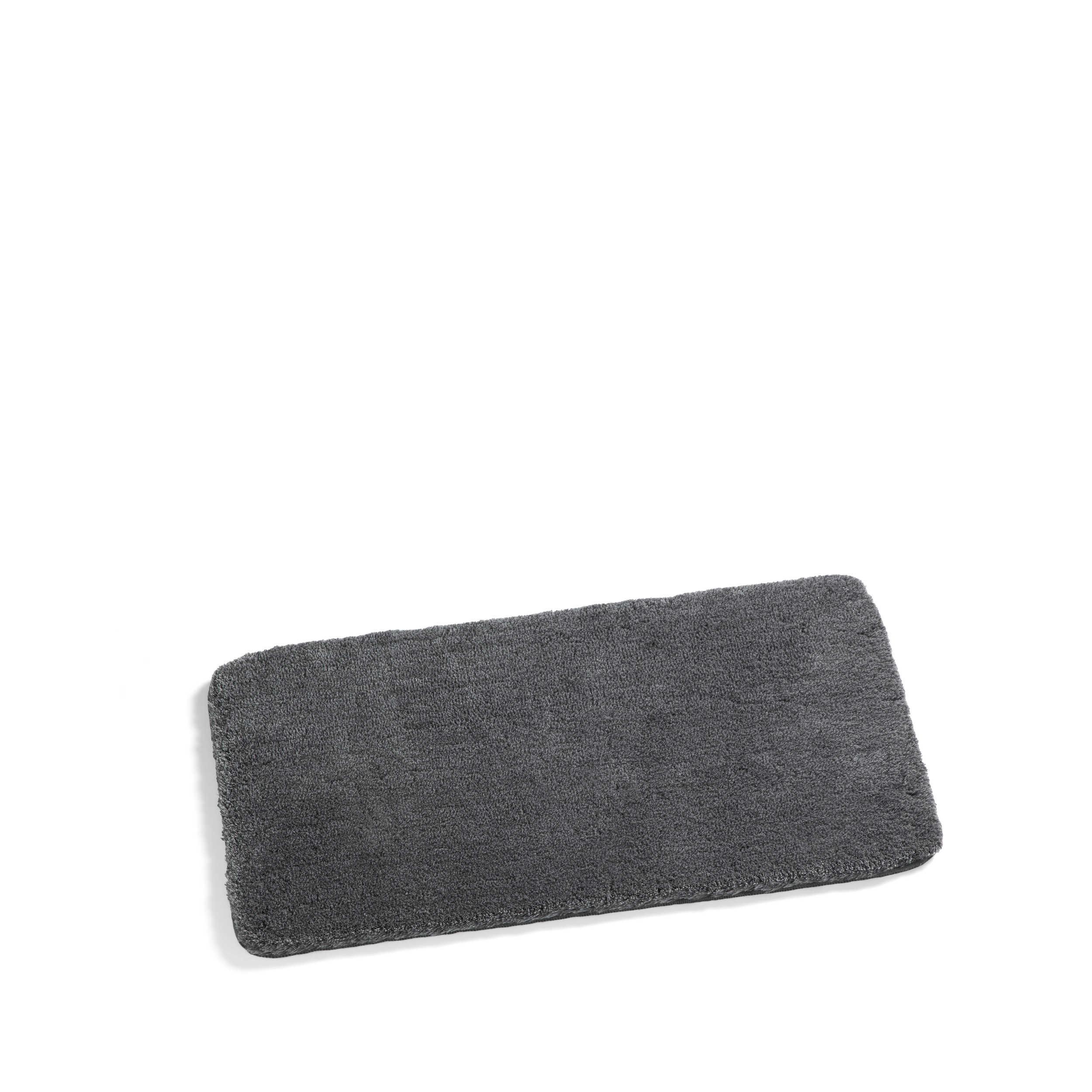 kleine wolke badteppich relax 85 x 150 cm anthrazit. Black Bedroom Furniture Sets. Home Design Ideas