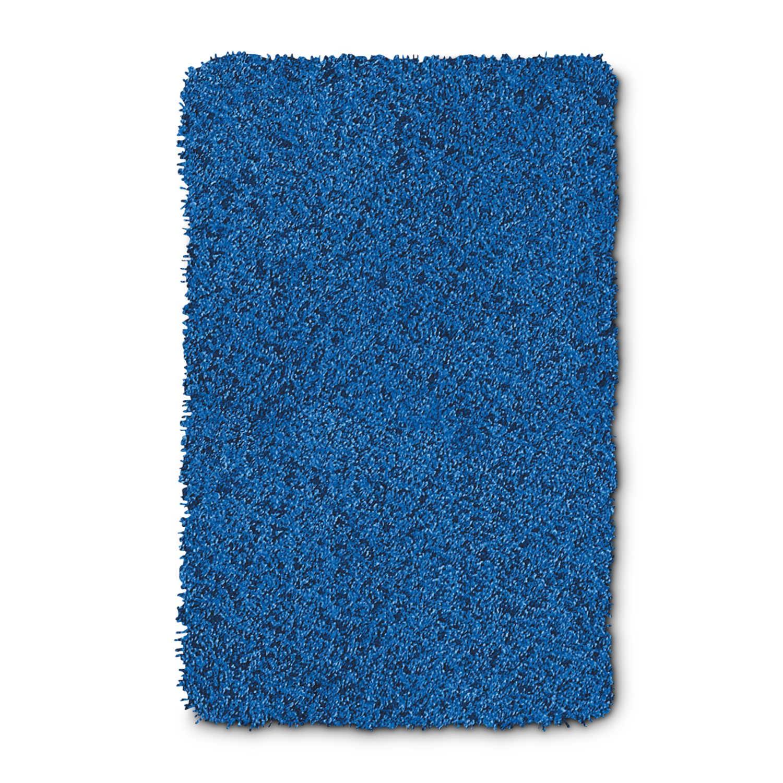 kleine wolke badteppich trend 80 x 140 cm blau polyester 80 x 140 cm online kaufen bei woonio. Black Bedroom Furniture Sets. Home Design Ideas