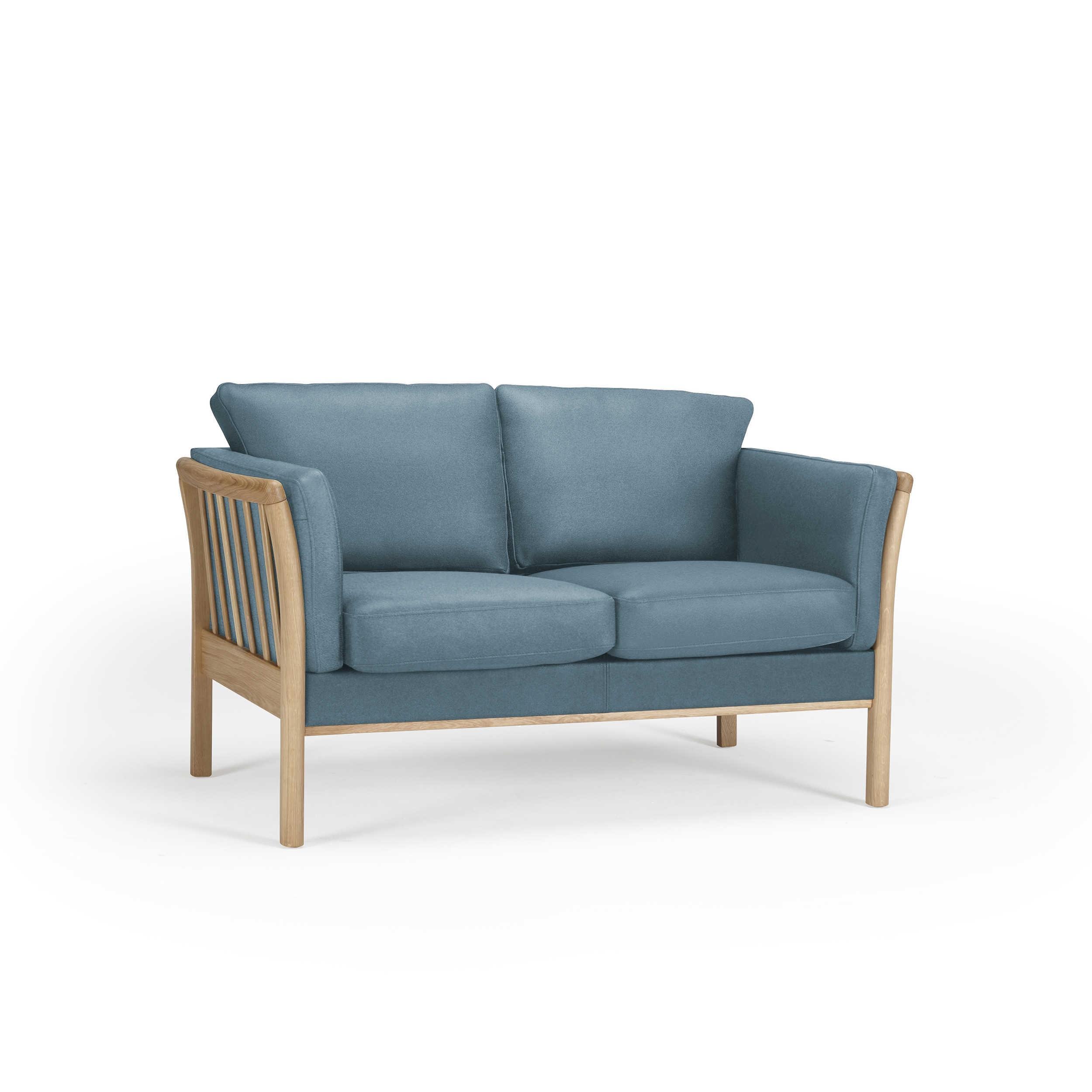 kragelund sofa k129 aya blau stoff online kaufen bei woonio. Black Bedroom Furniture Sets. Home Design Ideas