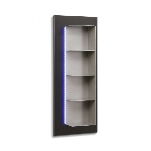 leonardo living regal cube schwarz kunststoff online. Black Bedroom Furniture Sets. Home Design Ideas