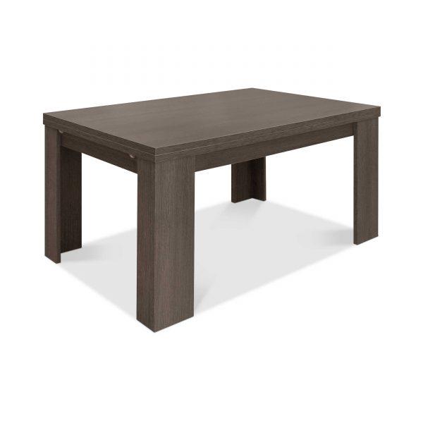 m usbacher esstisch mit auszug roma 160 260 x 90 cm eiche holzoptik online kaufen bei woonio. Black Bedroom Furniture Sets. Home Design Ideas