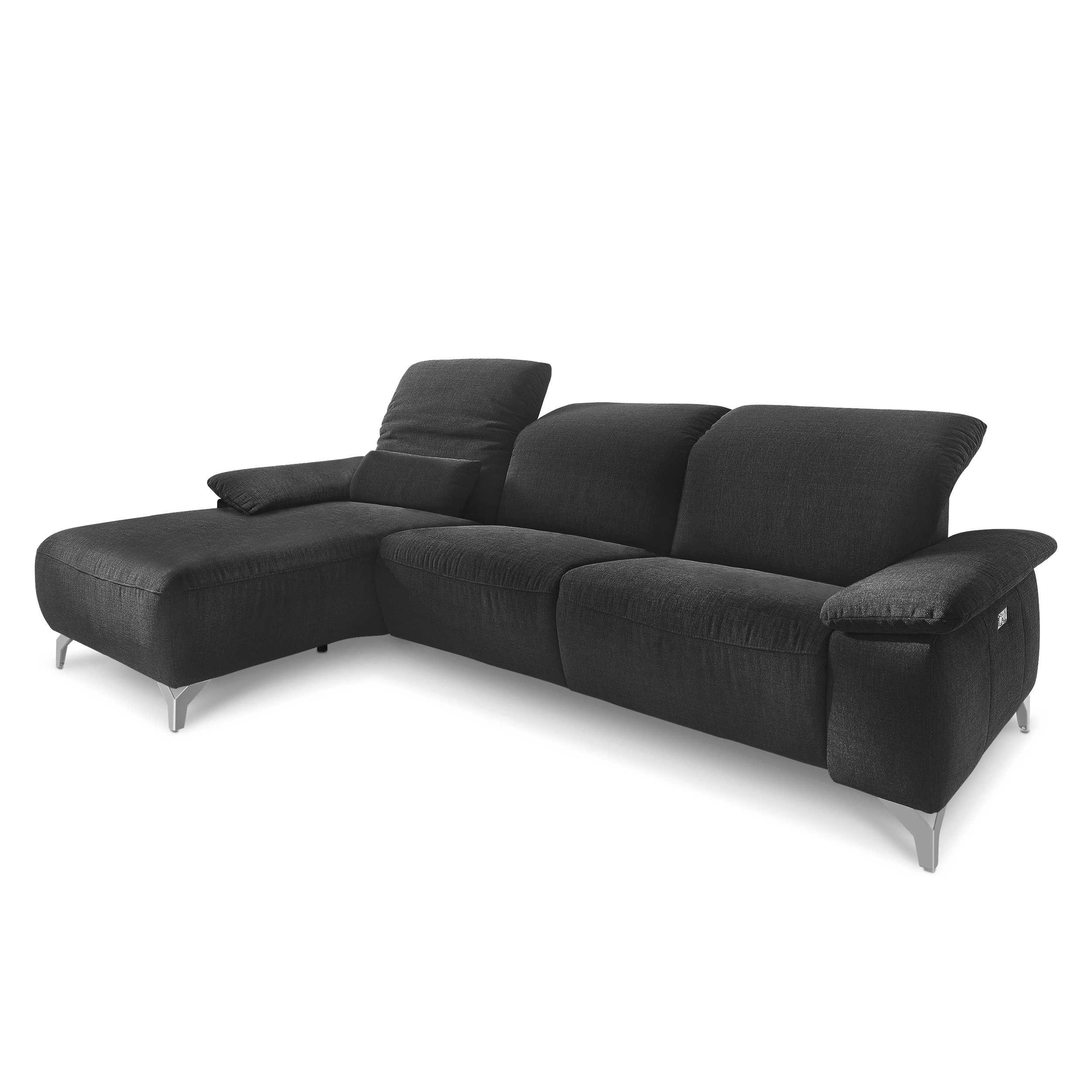 Musterring ecksofa mr 370 anthrazit stoff online kaufen for Ecksofa weich