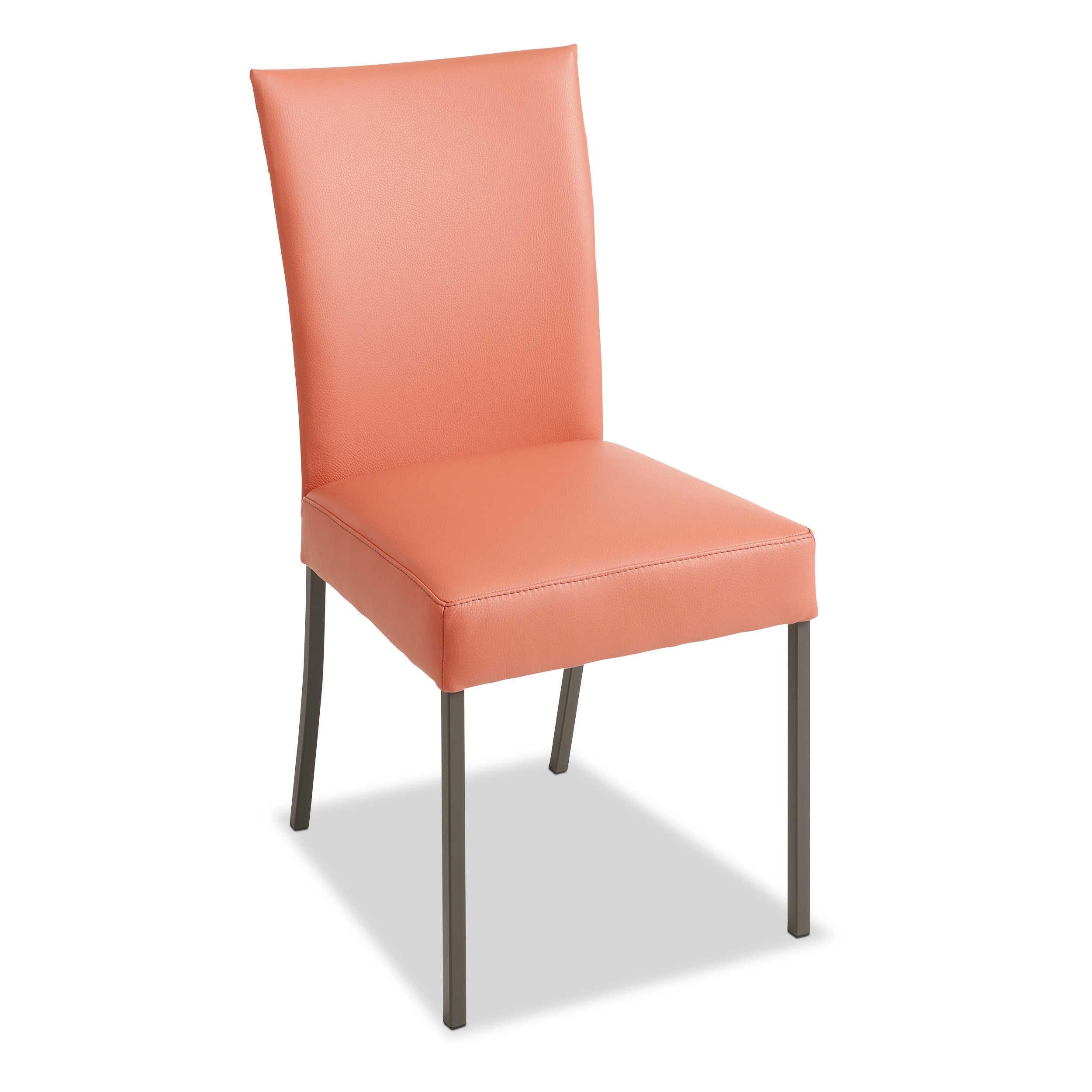 Musterring Stuhl Nova N 1008 Rosa Leder online kaufen bei