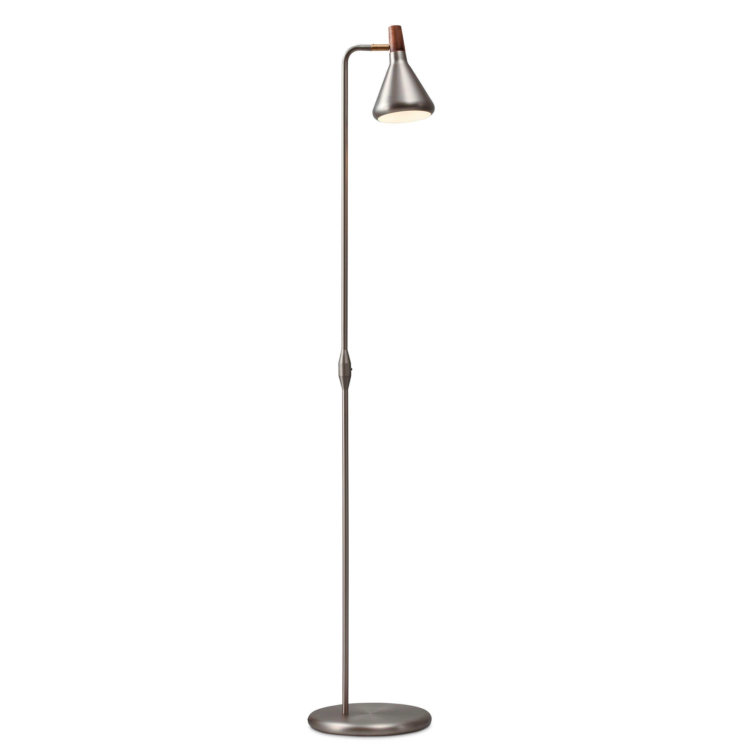nordlux stehlampe float a silber chrom alu nickel stahl online kaufen bei woonio. Black Bedroom Furniture Sets. Home Design Ideas