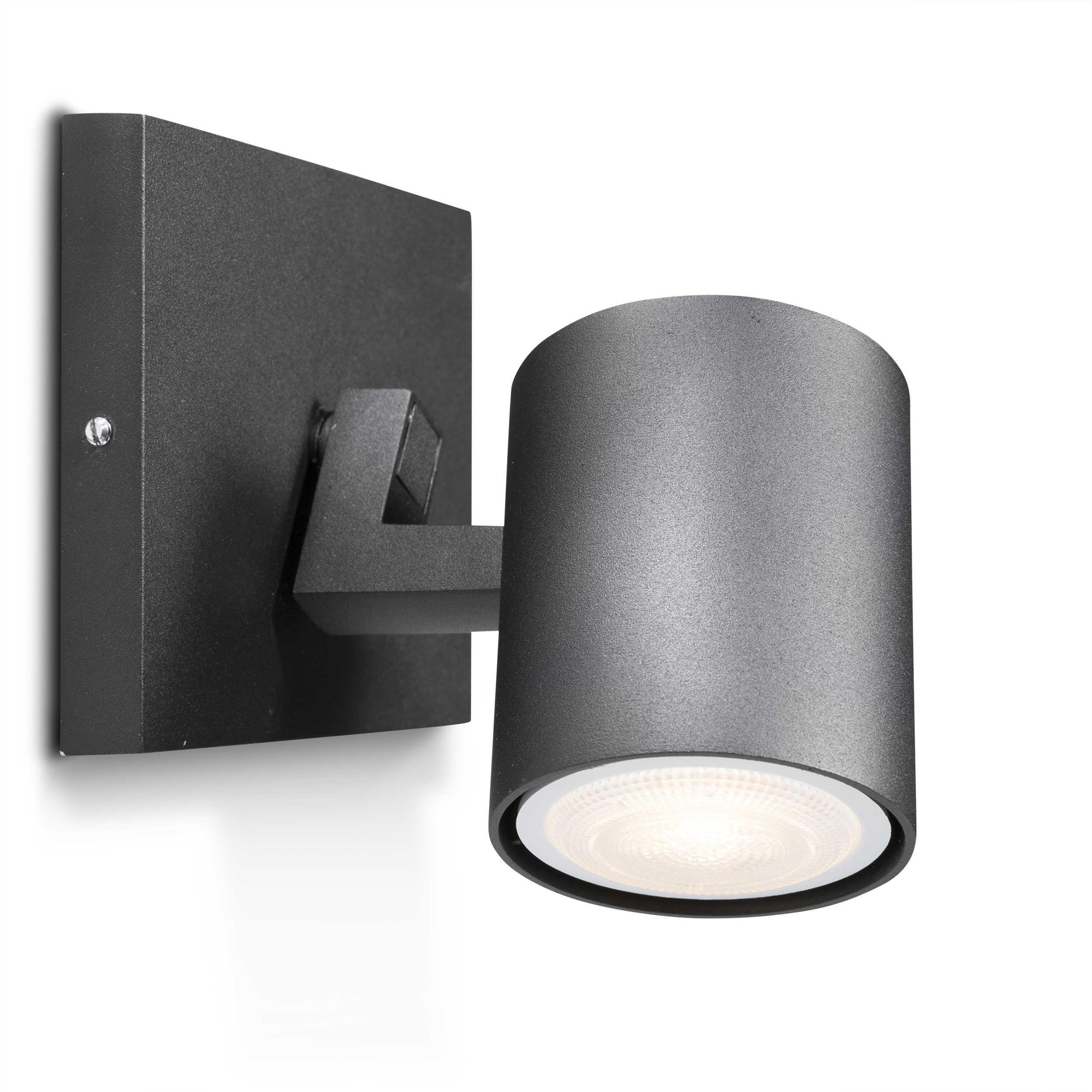 philips led spot hue runner a schwarz alu eisen stahl metall online kaufen bei woonio. Black Bedroom Furniture Sets. Home Design Ideas