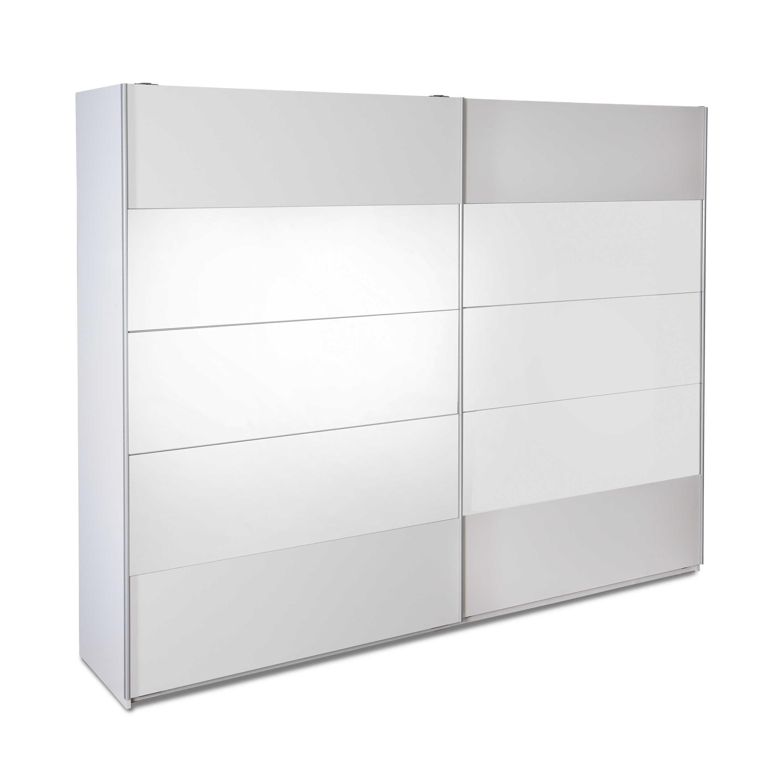 pol power kleiderschrank penta 270 x 210 cm wei kunststoff online kaufen bei woonio. Black Bedroom Furniture Sets. Home Design Ideas