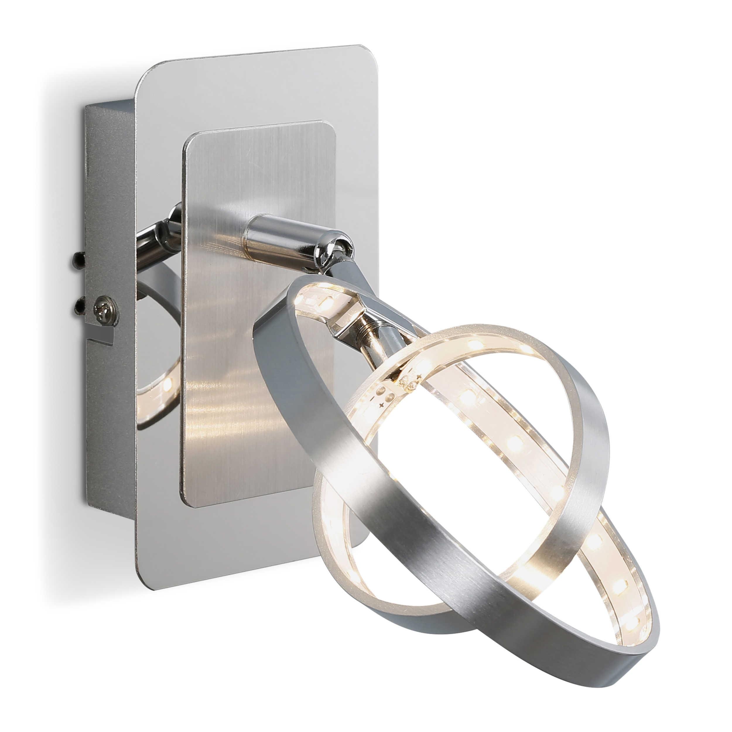 reality leuchten led wandleuchte a silber aluminium online kaufen bei woonio. Black Bedroom Furniture Sets. Home Design Ideas