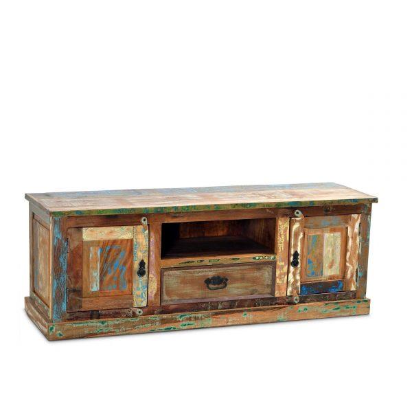 sit tv lowboard riverboat bunt holz online kaufen bei woonio. Black Bedroom Furniture Sets. Home Design Ideas