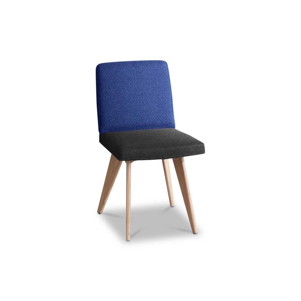 sch ner wohnen stuhl craft 0662 blau stoff online kaufen. Black Bedroom Furniture Sets. Home Design Ideas