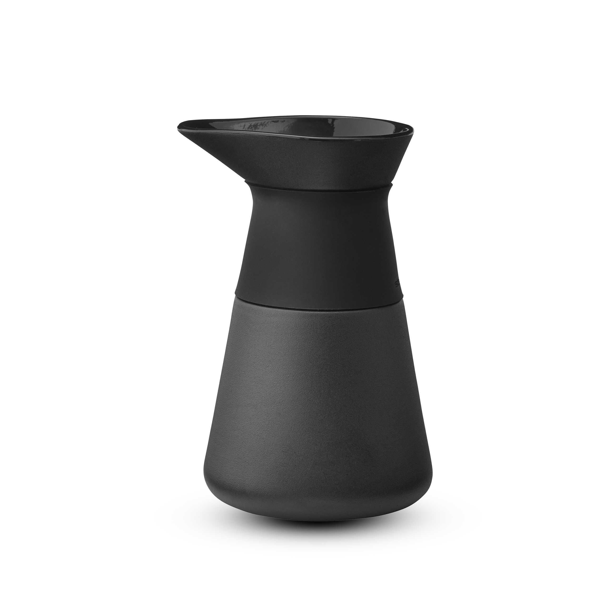 stelton milchk nnchen theo schwarz steingut online kaufen bei woonio. Black Bedroom Furniture Sets. Home Design Ideas