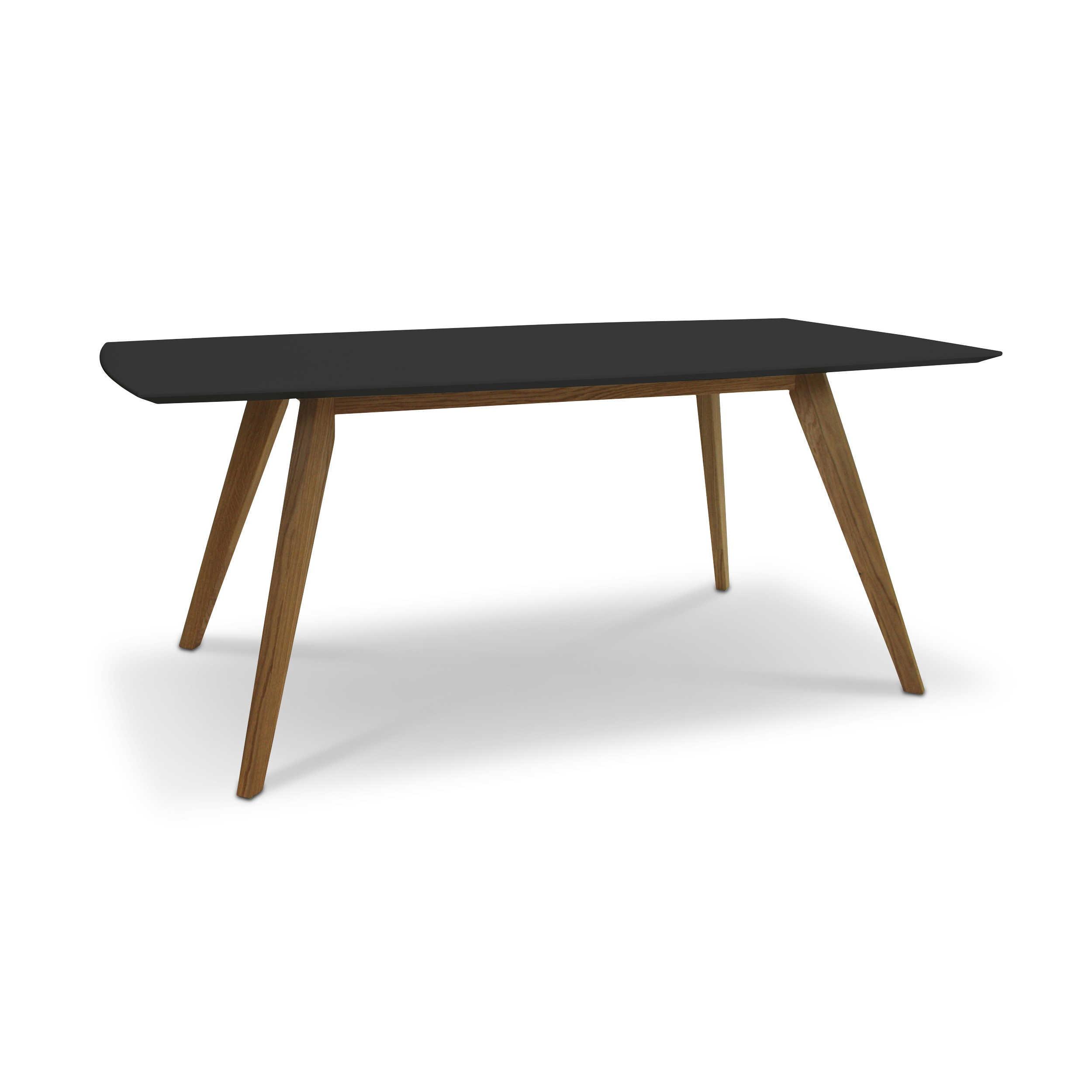 esstisch schwarz lack, tenzo esstisch bess 185 x 95 cm schwarz lack / hochglanz online, Design ideen