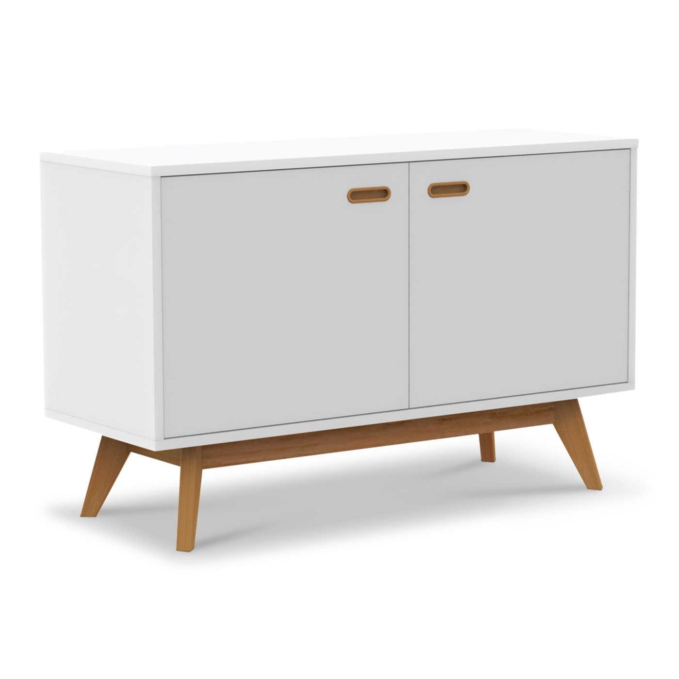 tenzo kommode bess wei lack hochglanz online kaufen bei woonio. Black Bedroom Furniture Sets. Home Design Ideas