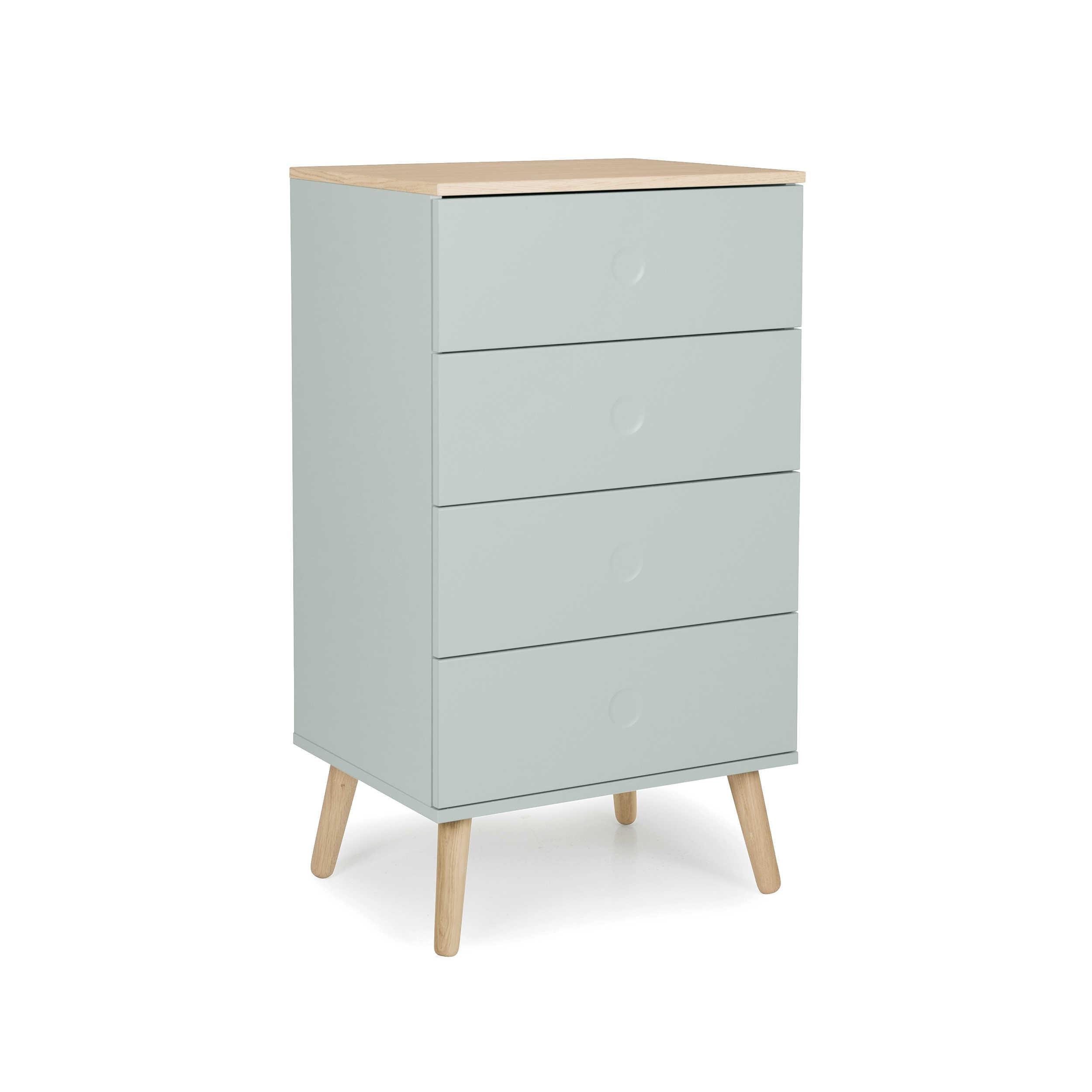 tenzo sideboard dot gr n lack hochglanz online kaufen bei woonio. Black Bedroom Furniture Sets. Home Design Ideas