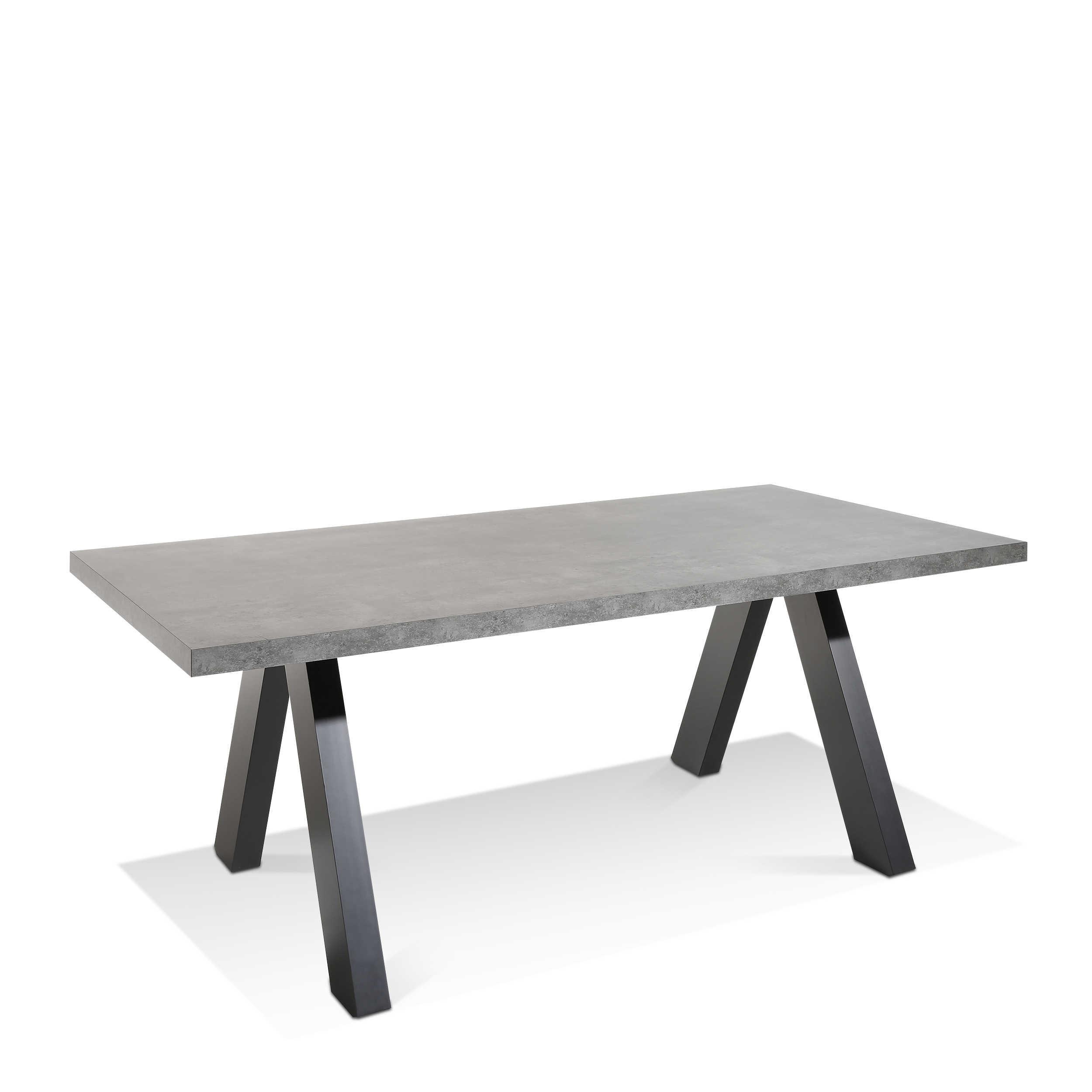 temahome esstisch pombal 200 x 100 cm grau kunststoff online kaufen bei woonio. Black Bedroom Furniture Sets. Home Design Ideas