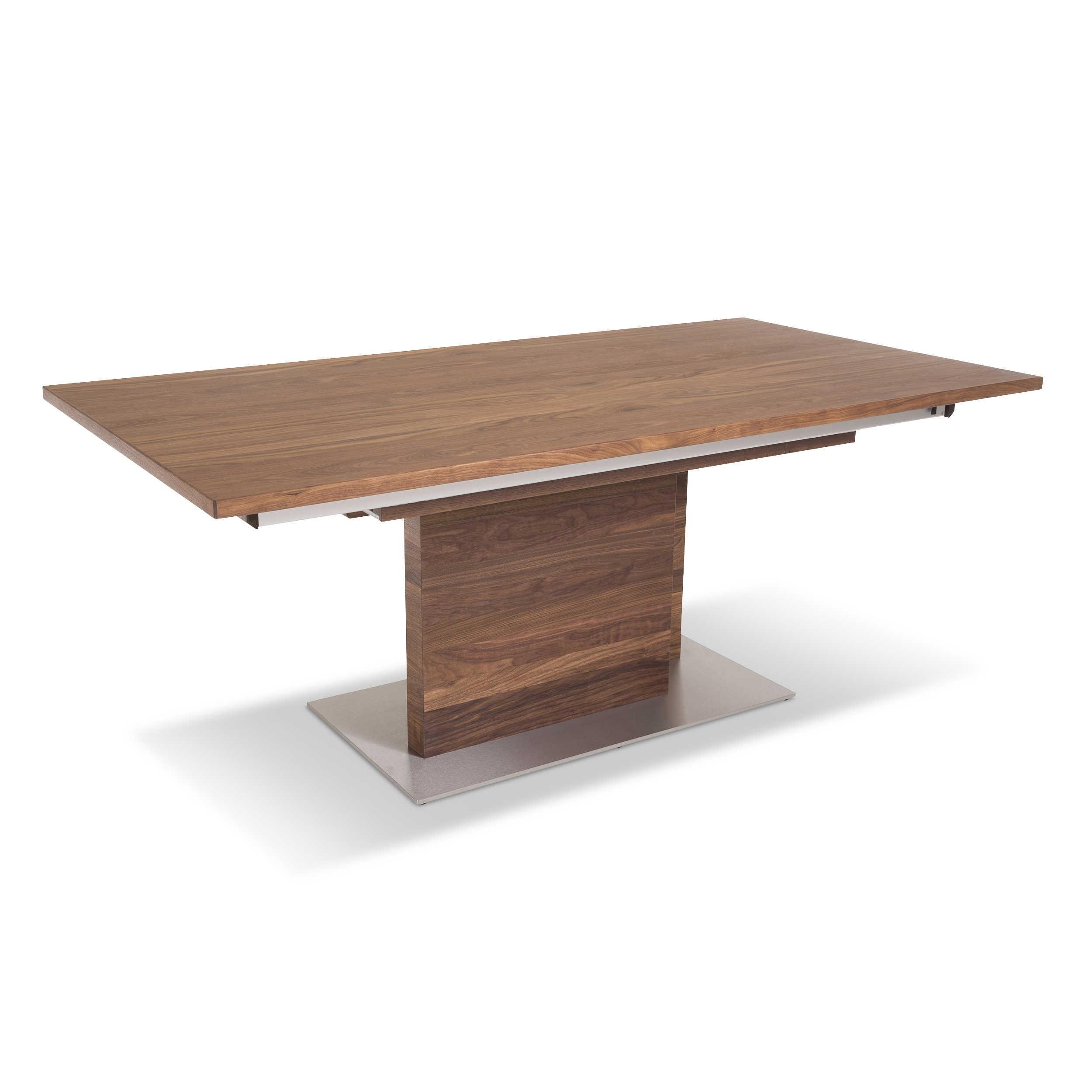 venjakob esstisch mit auszug et2254 190 290 x 100 cm nuss holz online kaufen bei woonio. Black Bedroom Furniture Sets. Home Design Ideas