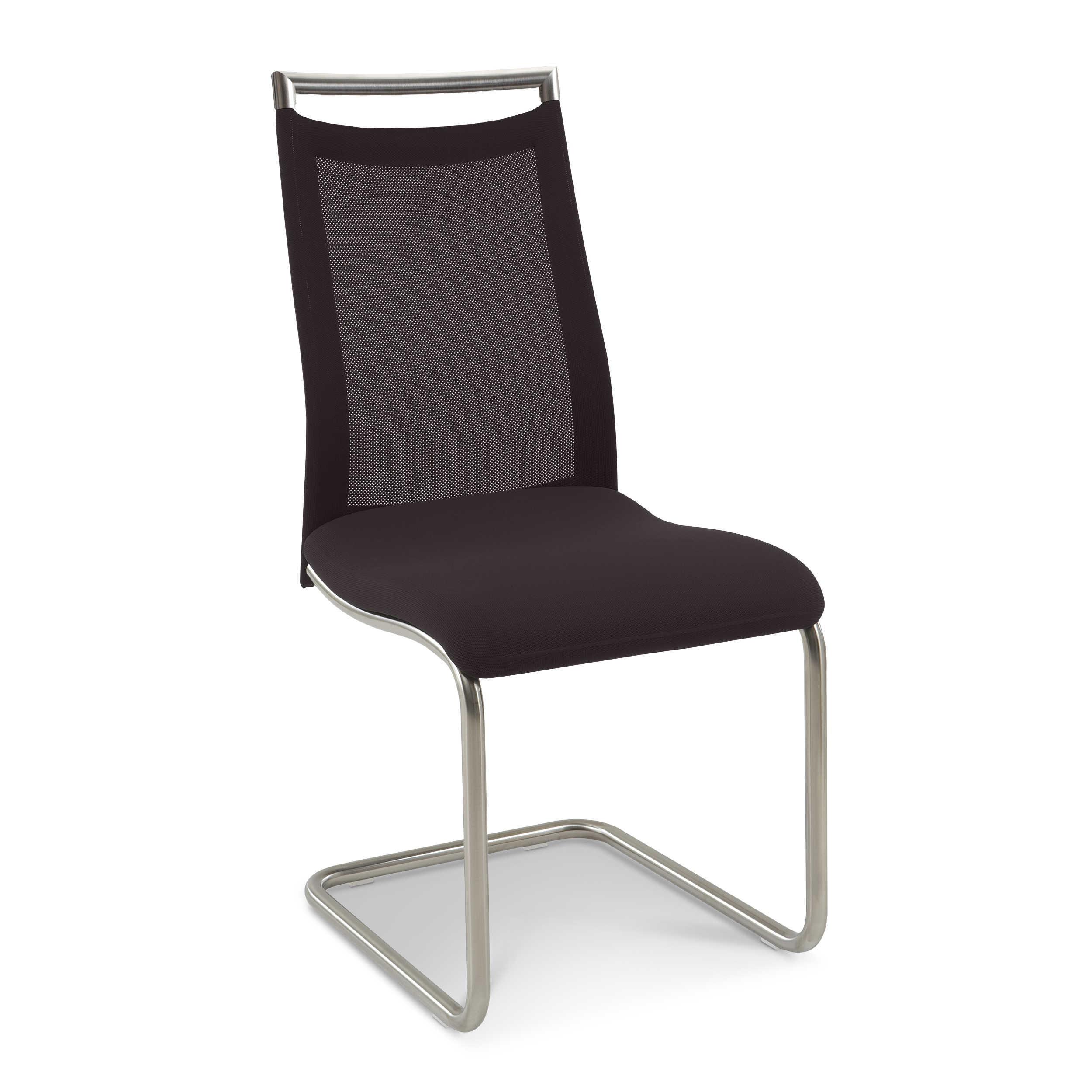 venjakob freischwinger joy braun stoff online kaufen bei. Black Bedroom Furniture Sets. Home Design Ideas
