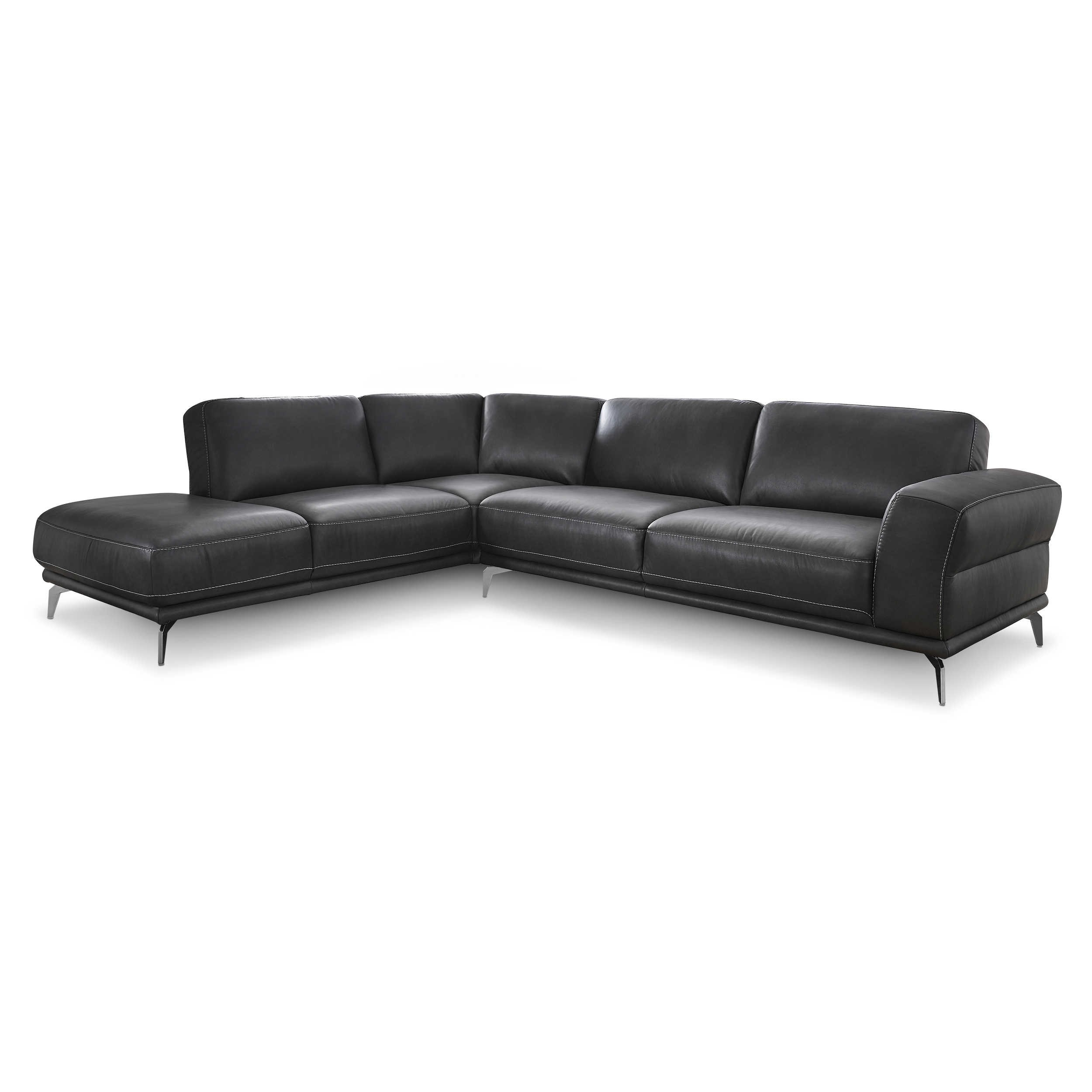 willi schillig ecksofa 24250 montanaa anthrazit leder. Black Bedroom Furniture Sets. Home Design Ideas