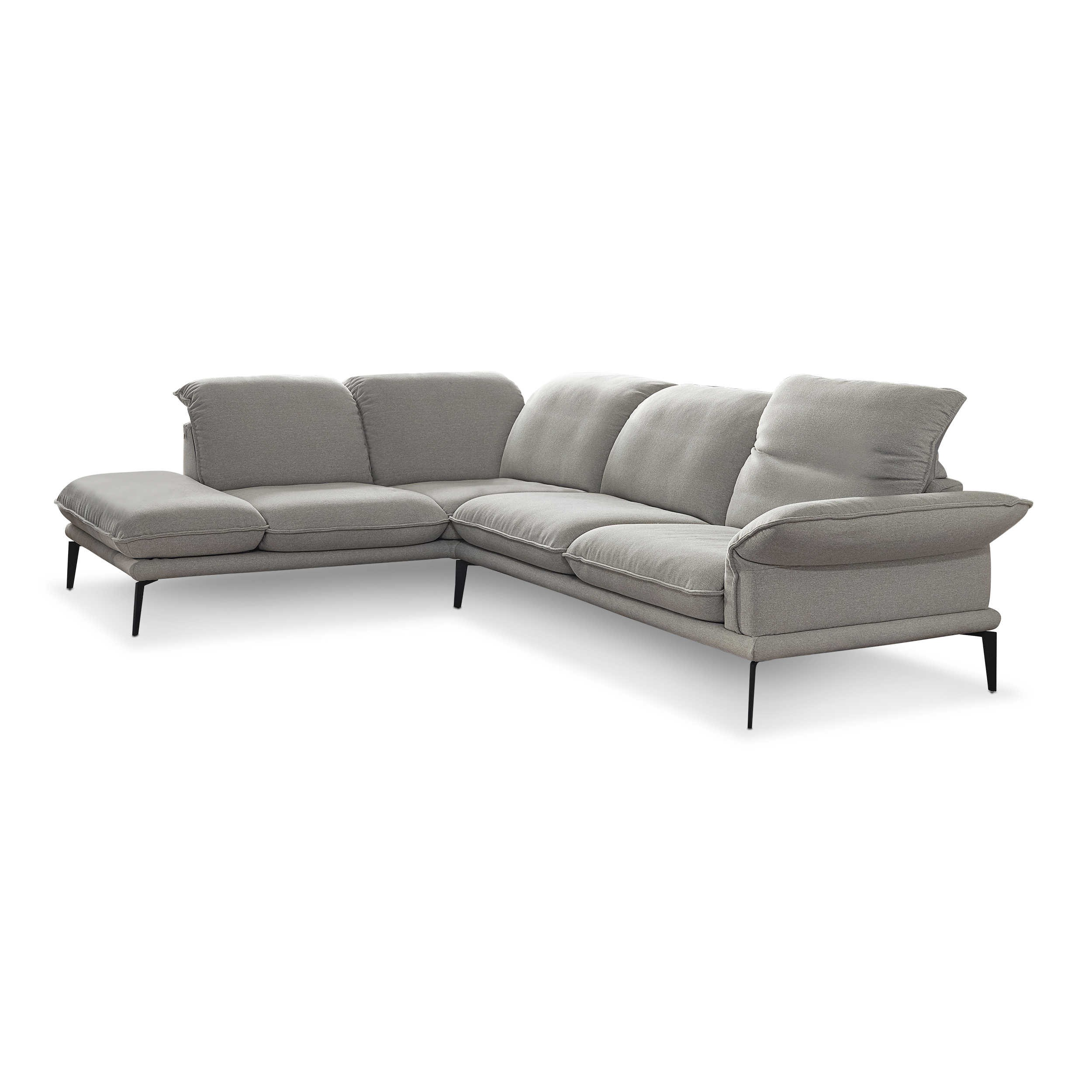 willi schillig ecksofa 24600 sherry silber stoff online. Black Bedroom Furniture Sets. Home Design Ideas