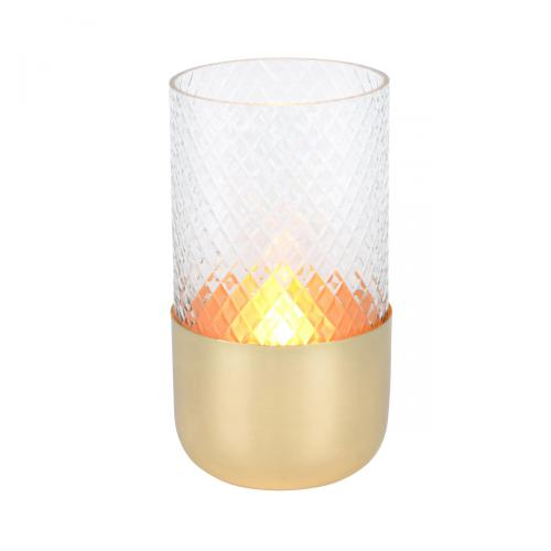 Windlicht Glas Marylebone gold
