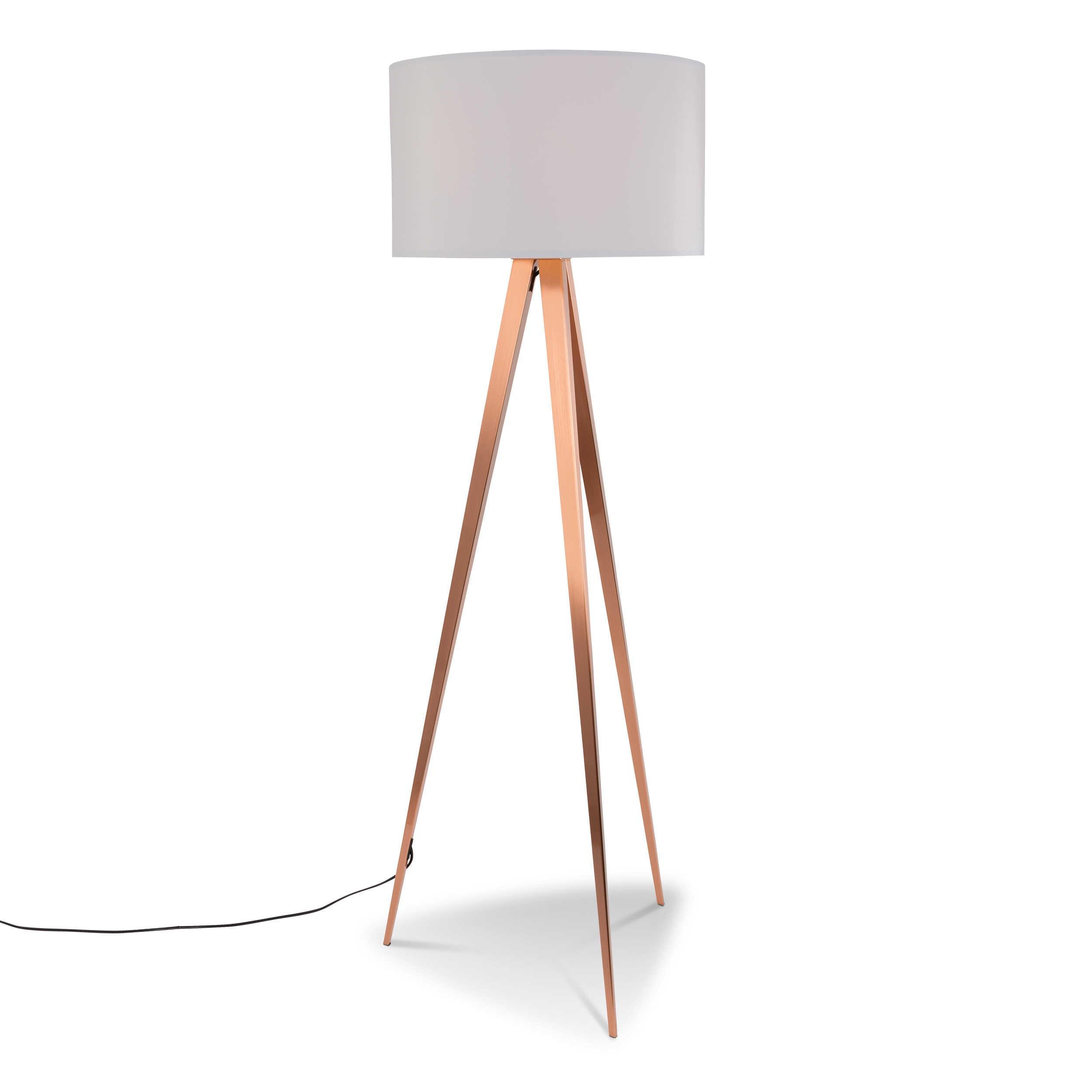 zuiver stehlampe tripod a wei alu eisen stahl metall online kaufen bei woonio. Black Bedroom Furniture Sets. Home Design Ideas