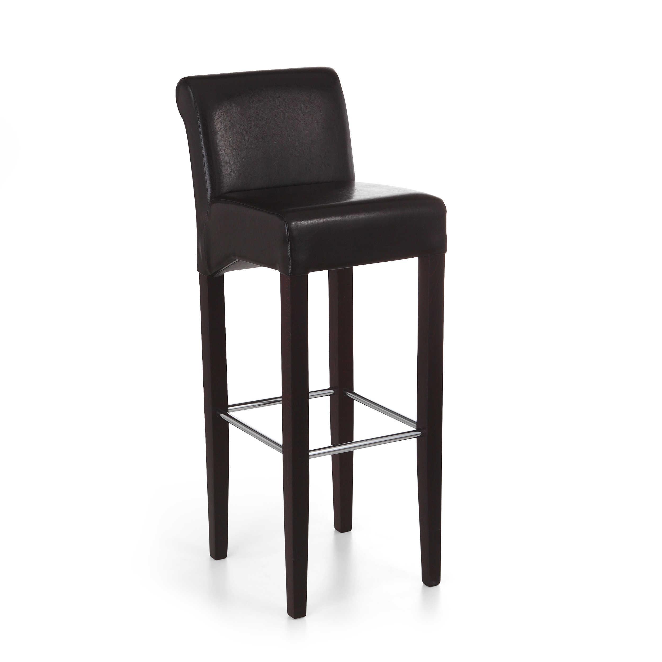 barhocker lecco braun lederoptik online kaufen. Black Bedroom Furniture Sets. Home Design Ideas