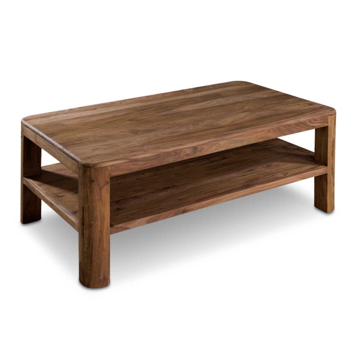 Daheim De Couchtisch New York Sheesham Holz Online Kaufen Bei Woonio