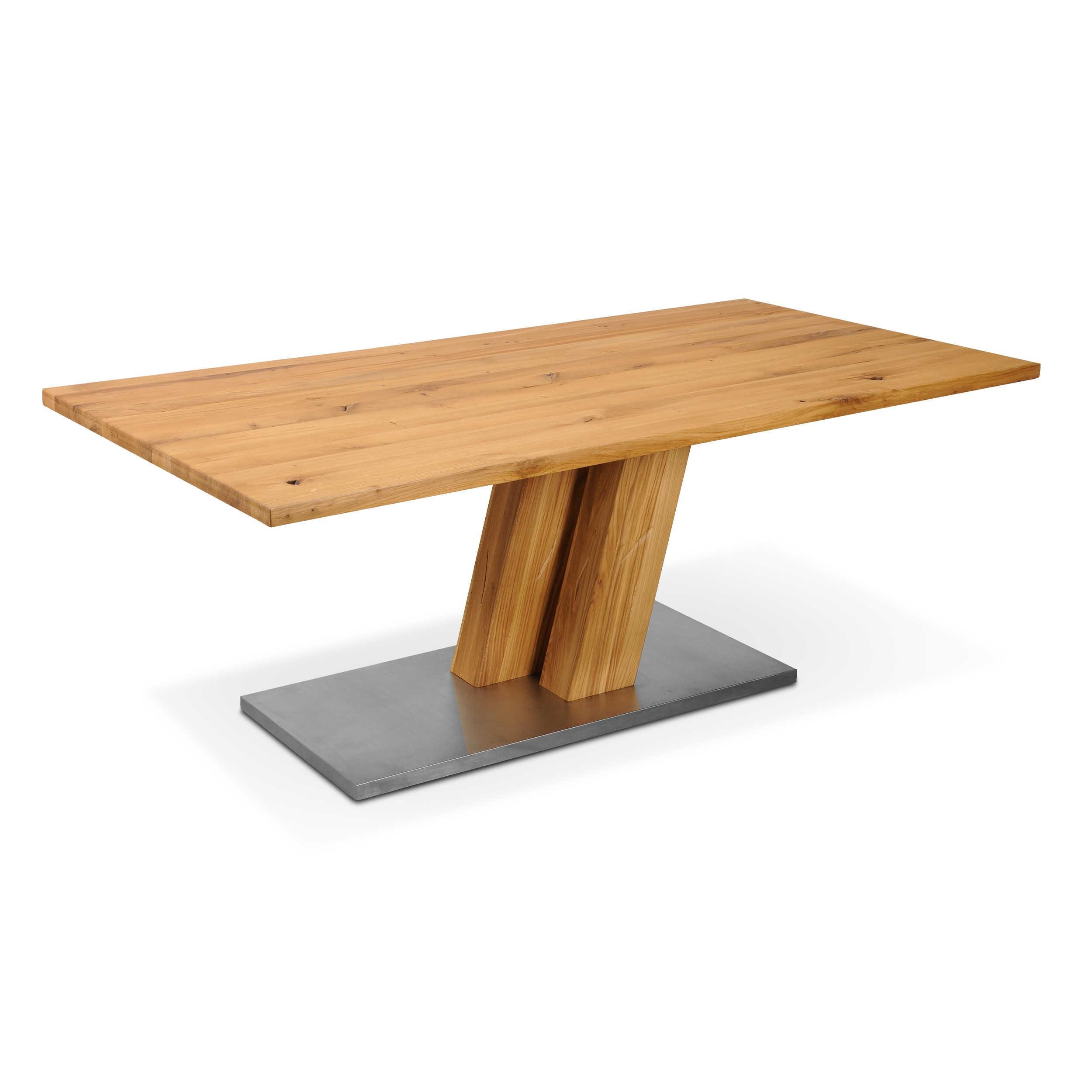 daheim.de, Esstisch Boston 180 x 100 cm Eiche Holz online kaufen bei ...