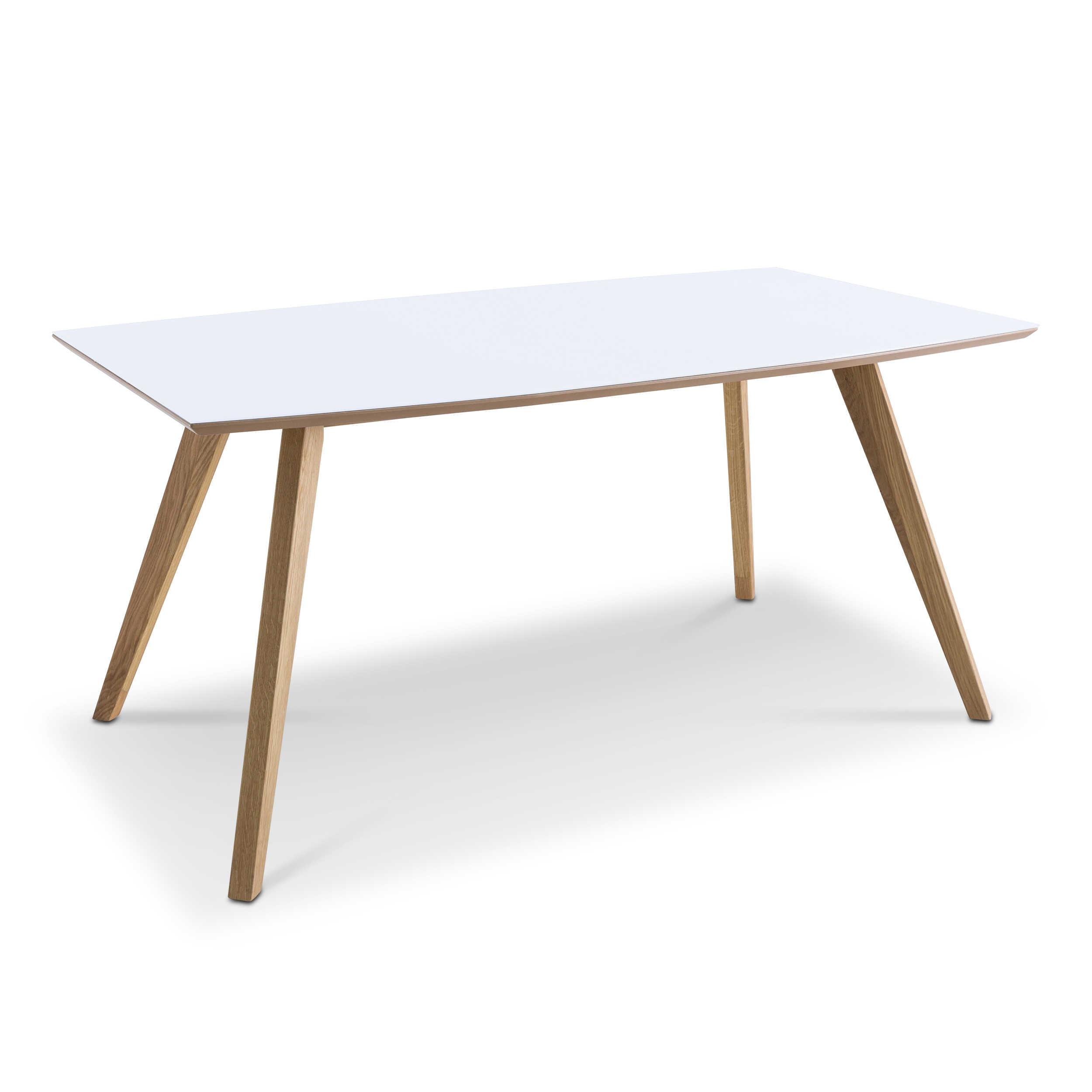 daheim.de, Esstisch Trondheim 160 x 90 cm Eiche Holz online kaufen ...