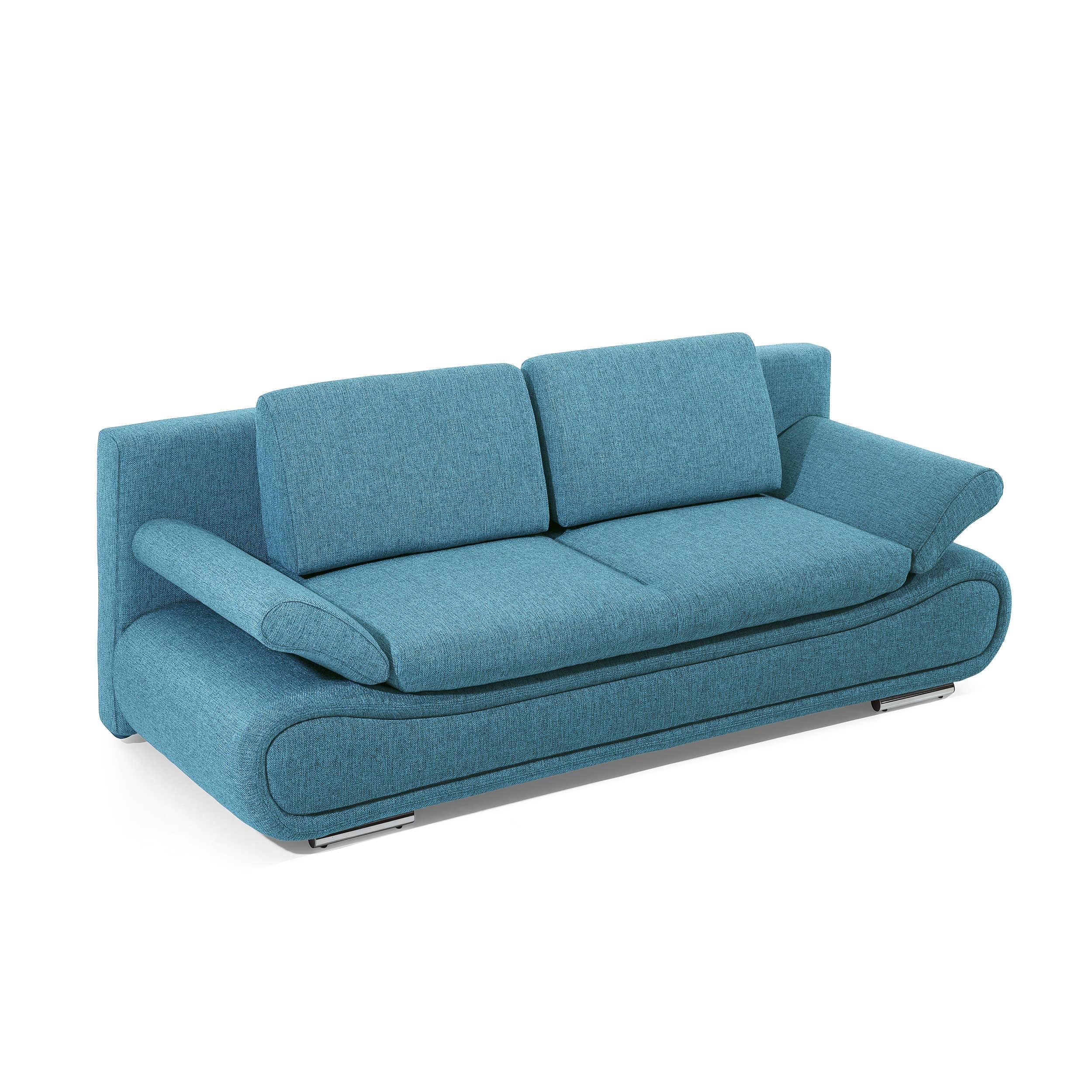 schlafsofa verena t rkis stoff online kaufen. Black Bedroom Furniture Sets. Home Design Ideas