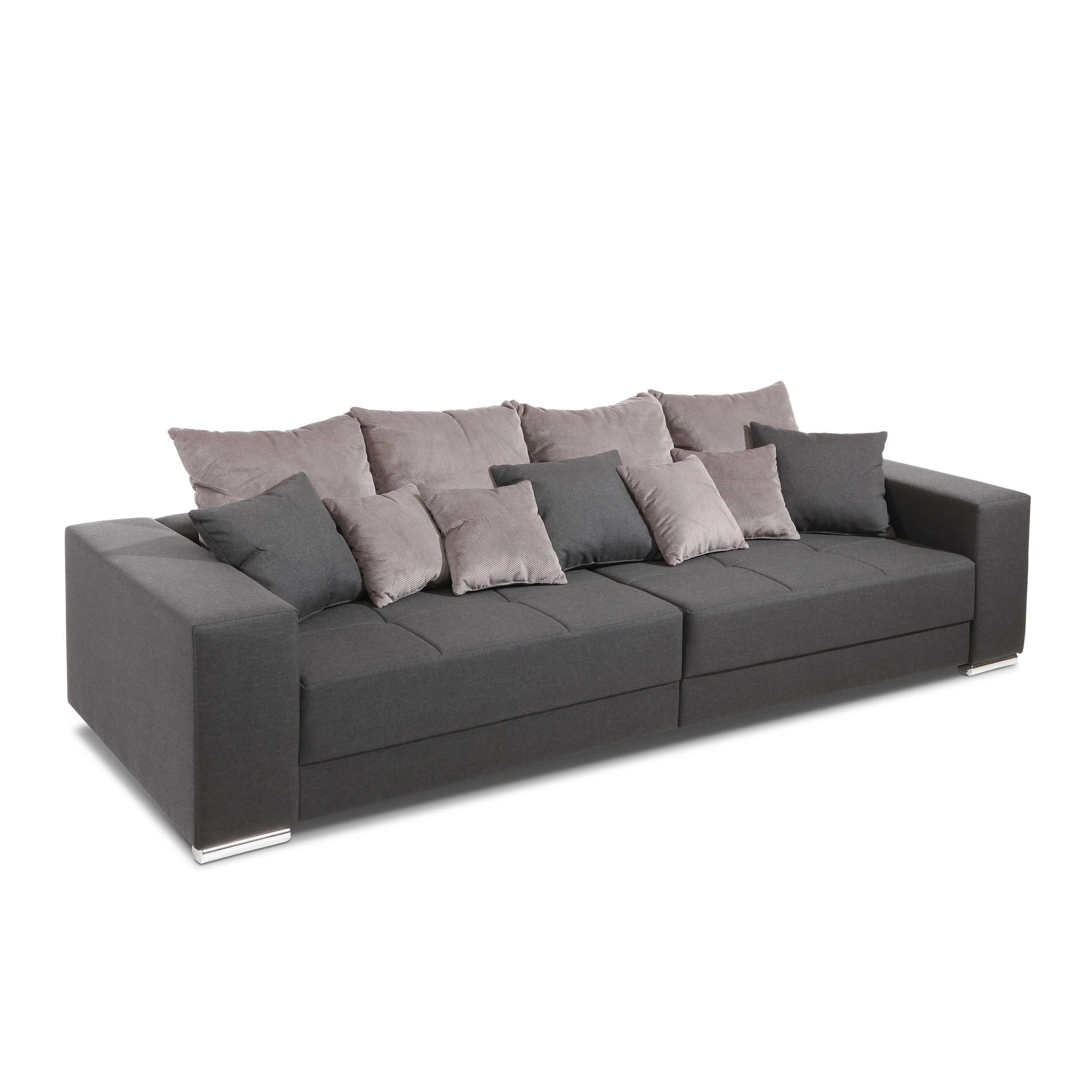 sofa adro grau stoff online kaufen bei woonio. Black Bedroom Furniture Sets. Home Design Ideas