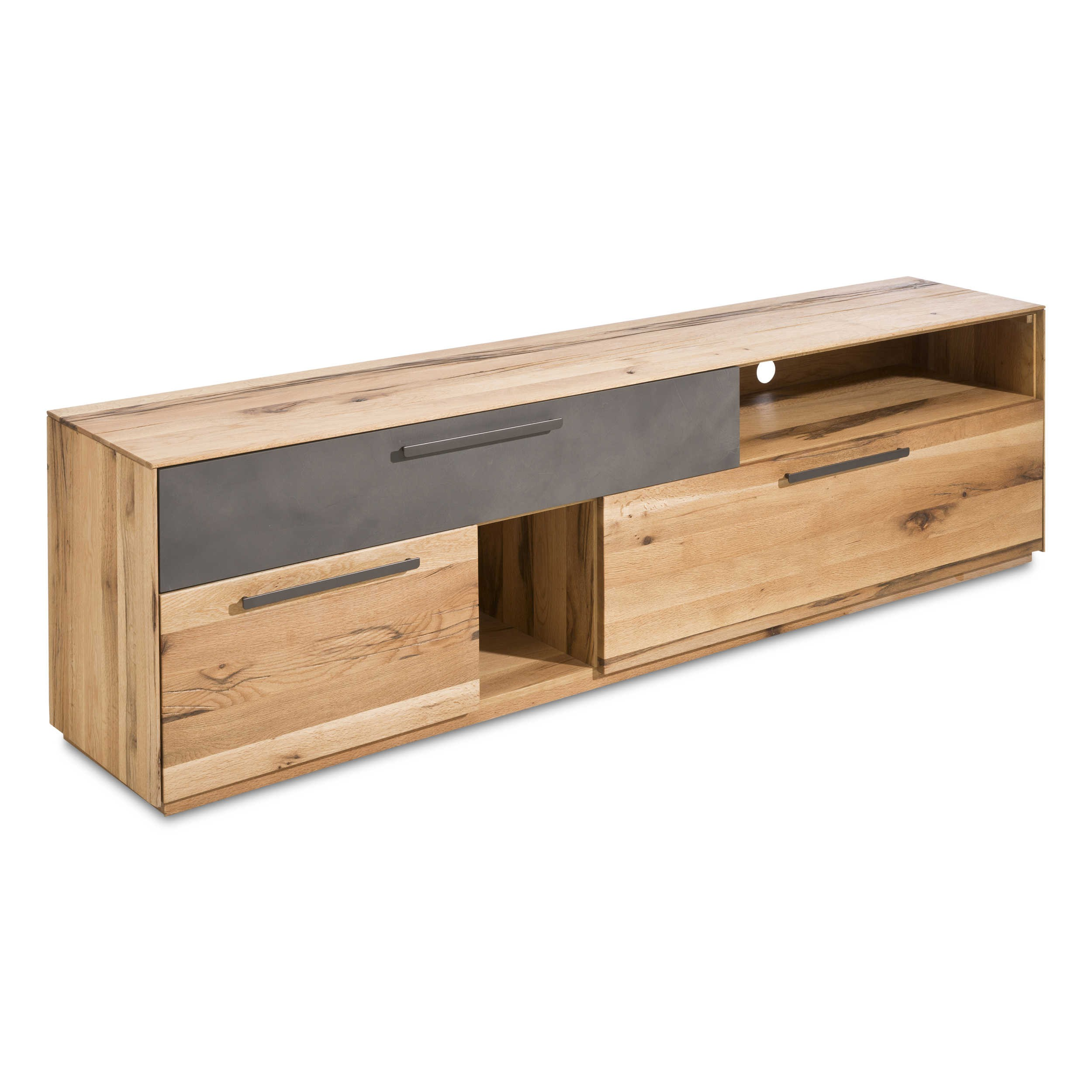 tv lowboard rodna eiche holz online kaufen bei. Black Bedroom Furniture Sets. Home Design Ideas