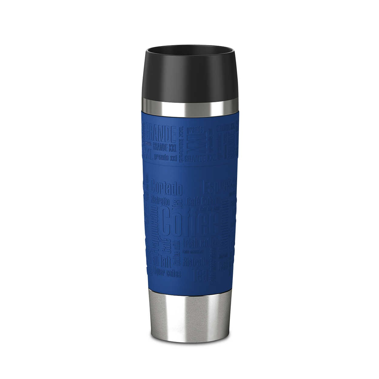 emsa thermosbecher travel mug blau edelstahl online kaufen bei woonio. Black Bedroom Furniture Sets. Home Design Ideas