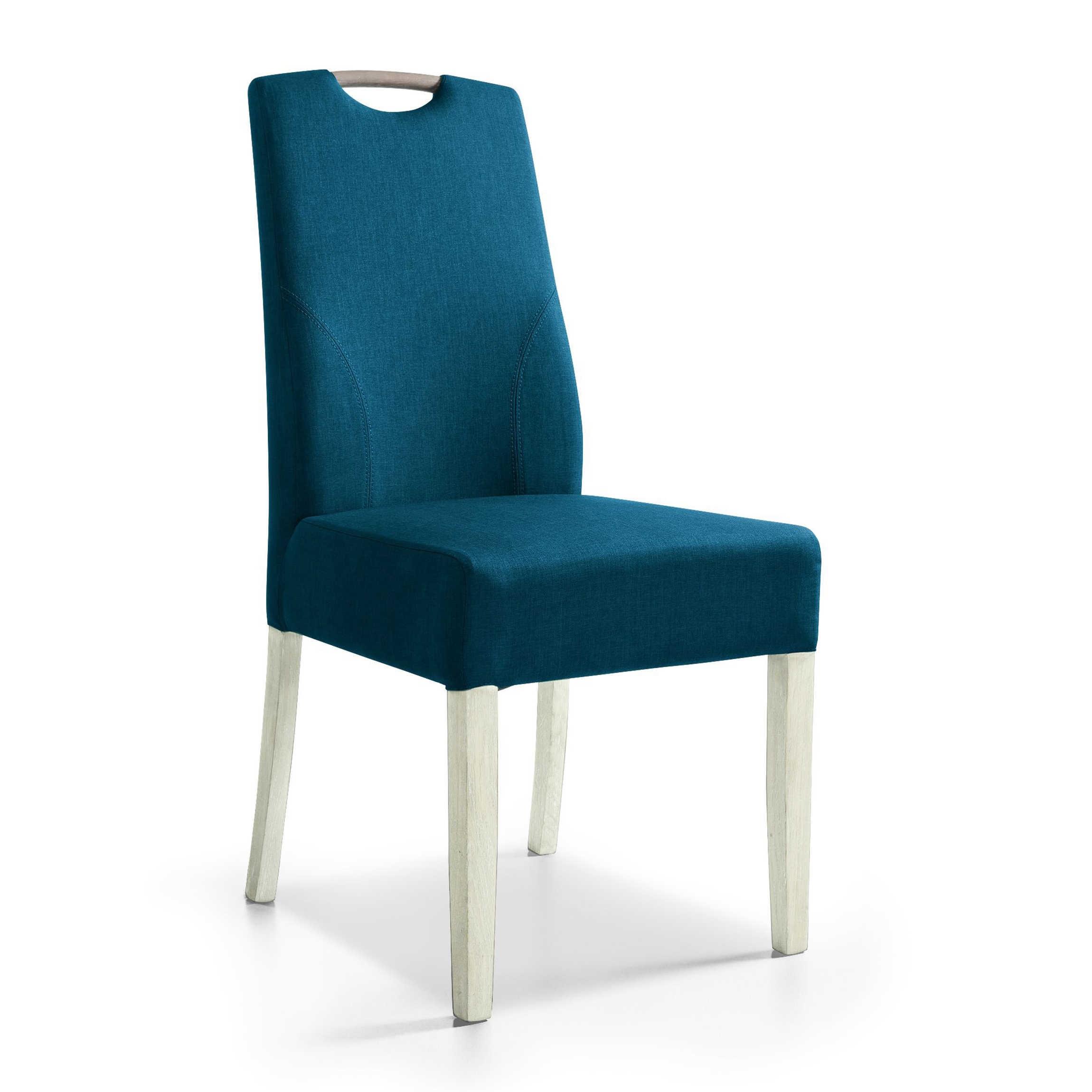 set one by musterring stuhl cleveland blau stoff online. Black Bedroom Furniture Sets. Home Design Ideas