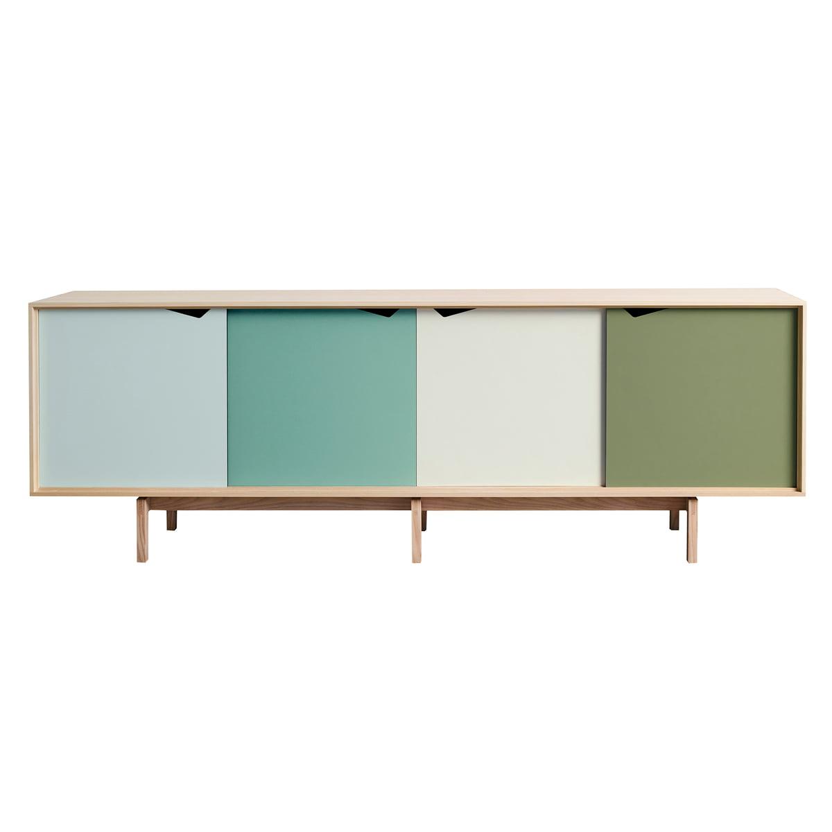 Andersen Furniture S1 Sideboard Eiche Geseift Türen Dali