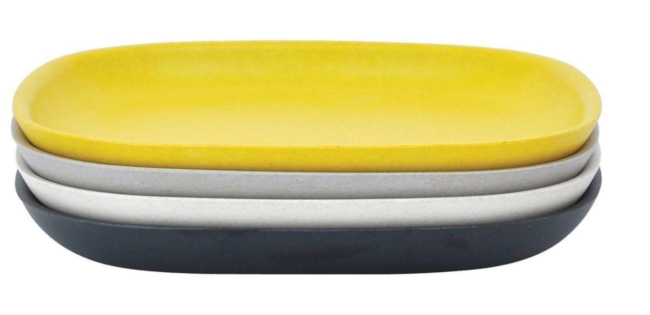 biobu by ekobo gusto beilagen kuchenteller 4er set online kaufen bei woonio. Black Bedroom Furniture Sets. Home Design Ideas