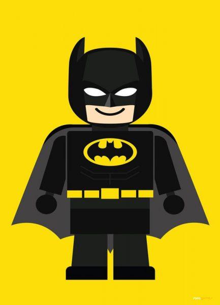 Batman Toy Leinwandbild