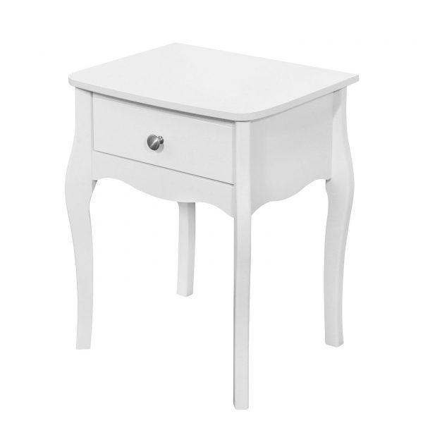 Beistelltisch Baroque - Weiß