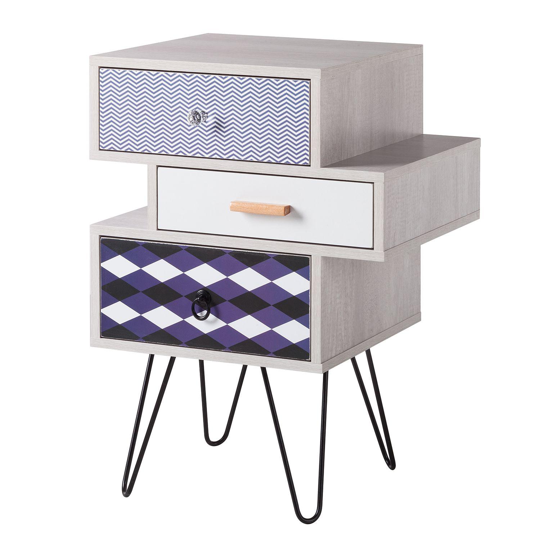 beistelltisch stanmore ii blau wei ars manufacti online kaufen bei woonio. Black Bedroom Furniture Sets. Home Design Ideas