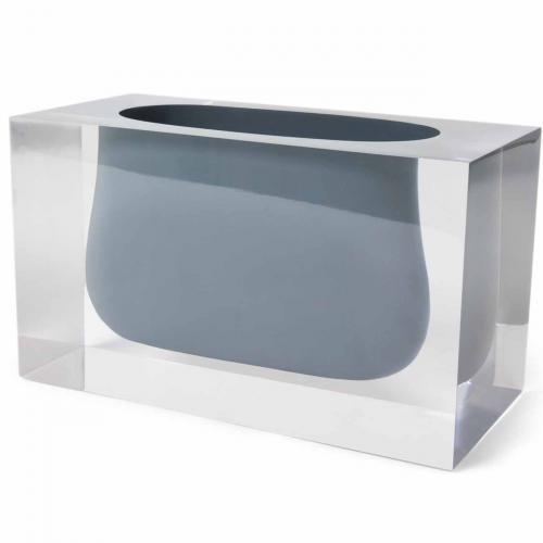 Bel Air Gorge Vase grau von Jonathan Adlergrau