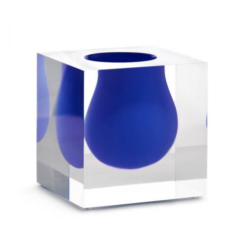 Bel Air Mini Scoop Vase cobalt von Jonathan Adlercobalt