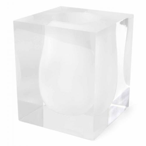 Bel Air Scoop Vase weiß von Jonathan Adlerweiß