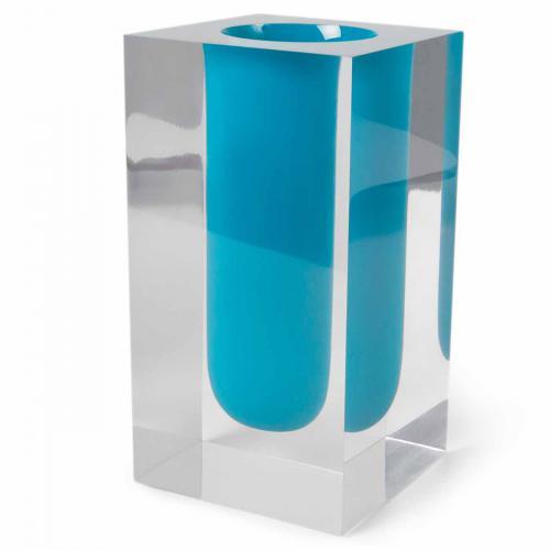 Bel Air Test Tube Vase türkis von Jonathan Adler