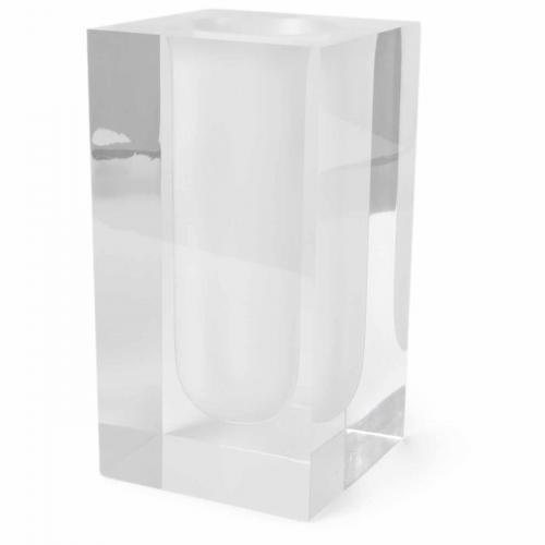 Bel Air Test Tube Vase weiß von Jonathan Adlerweiß