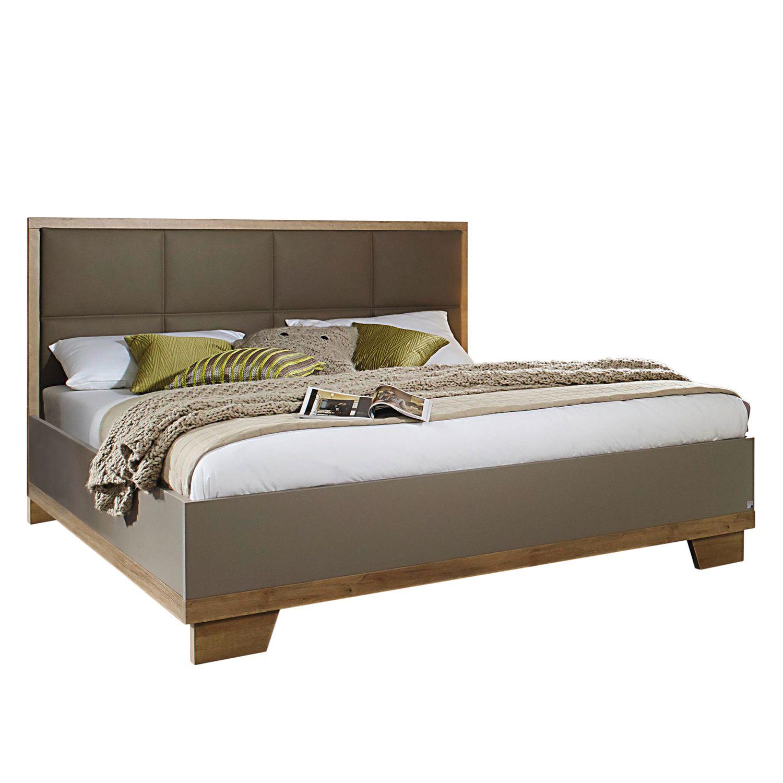 bett altona kunstleder fango rauch packs online kaufen bei woonio. Black Bedroom Furniture Sets. Home Design Ideas