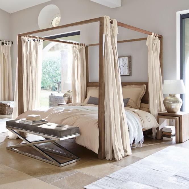 bett milo antikbraun online kaufen bei woonio. Black Bedroom Furniture Sets. Home Design Ideas