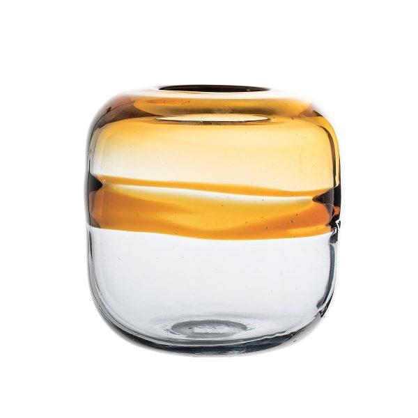 Bloomingville - Glas-Vase H 16