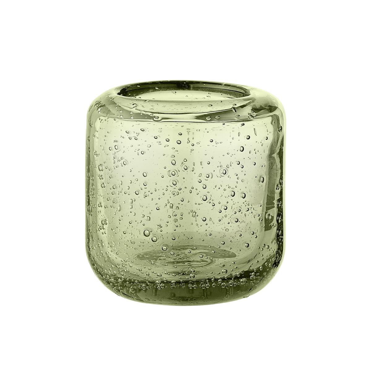 bloomingville teelichthalter 7 cm gr n transparent gr n h 7 online kaufen bei woonio. Black Bedroom Furniture Sets. Home Design Ideas
