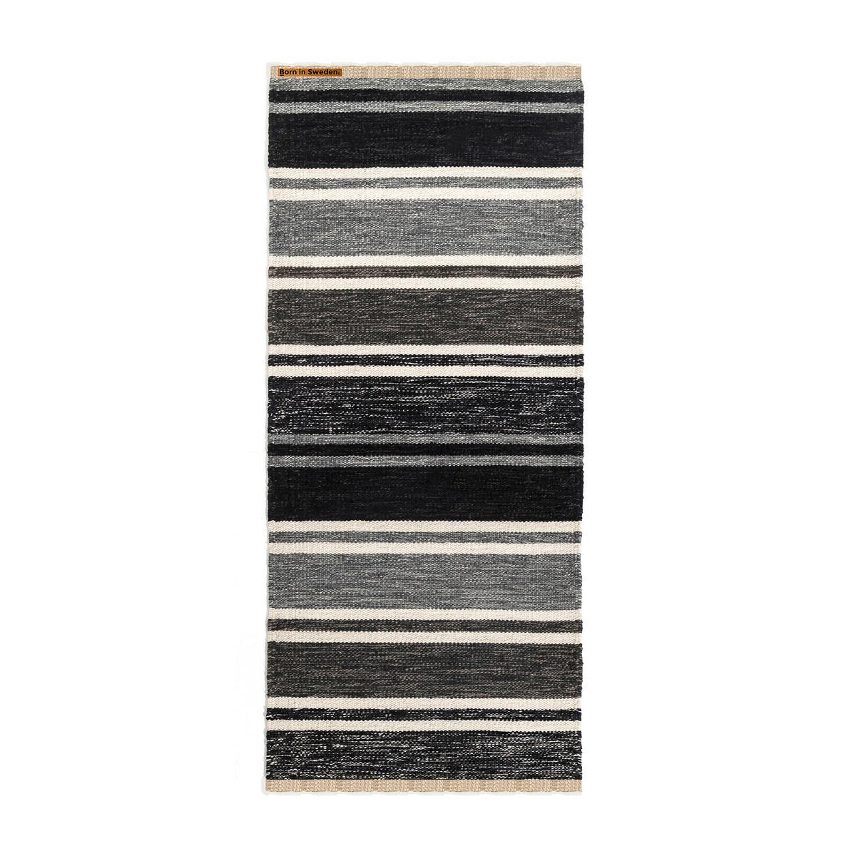 born in sweden teppich tom 80 x 160 cm dunkelgrau hellgrau wei schwarz grau t 75 h. Black Bedroom Furniture Sets. Home Design Ideas